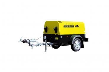 Mobile diesel air Compressor KOMPBERG BPD20