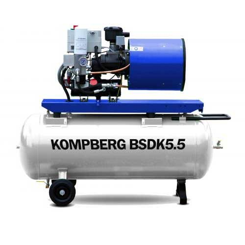 Stationary Screw Compressor KOMPBERG BSDK5.5